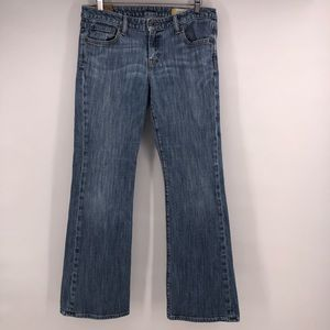 Gap 1969 Jeans flare size 8 A measuring 32W 29.5L
